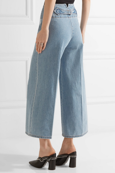 Marc jacobs high waisted wide leg jeans