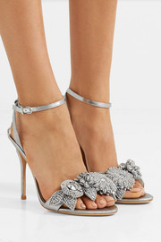 Lilico embellished lamé sandals