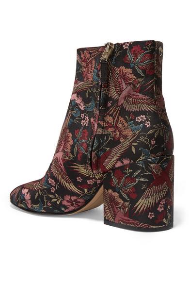 b4d243cc53b9bd Sam Edelman. Taye jacquard ankle boots.  64. Zoom In