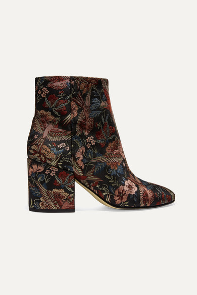 16583913c22 Taye jacquard ankle boots