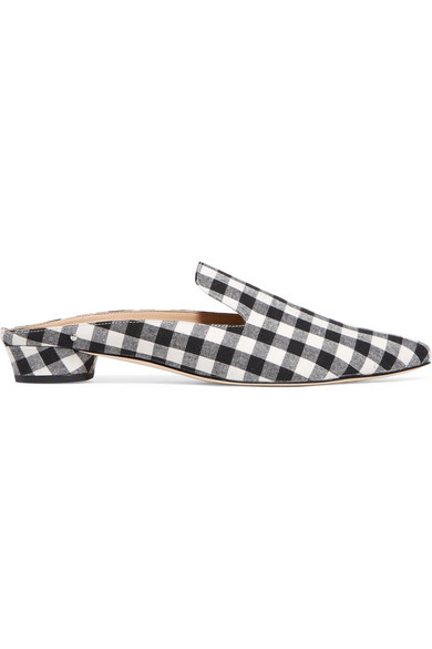 4c9a0d5c62626 Sam Edelman. Augustine gingham canvas slippers