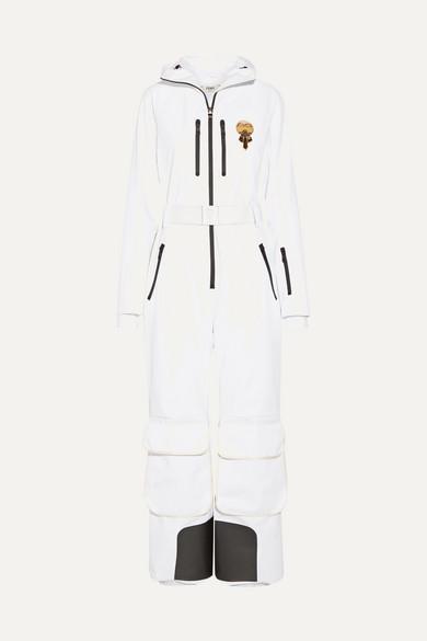 Fendi Karlito Embellished Ski Suit In White  26604f6c8
