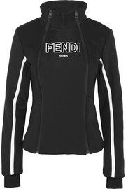 Fendi Roma paneled ski jacket
