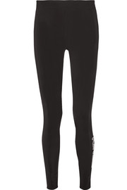 Fendi Printed tech-jersey ski leggings