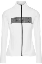 Fendi Printed stretch jacket