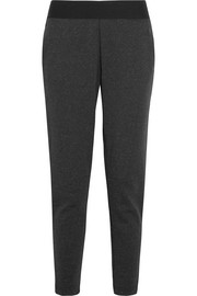 Stadium cotton-blend jersey track pants