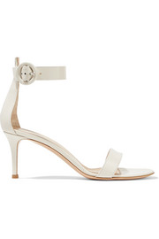 Portofino patent-leather sandals