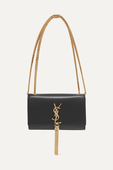 SAINT LAURENT Monogramme Kate Small Leather Shoulder Bag