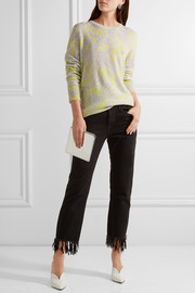 Equipment Rei intarsia cashmere sweater