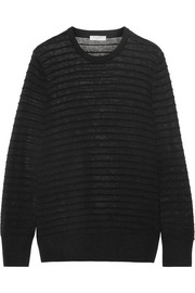 Equipment Rei ribbed cotton and silk-blend sweater
