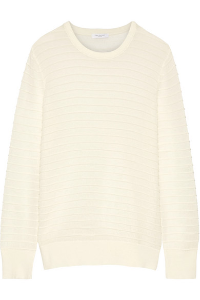 Equipment | Rei ribbed cotton and silk-blend sweater | NET-A ...