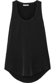 Equipment Mel washed-silk tank