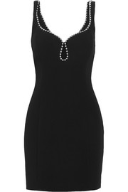 Alexander Wang Embellished crepe mini dress