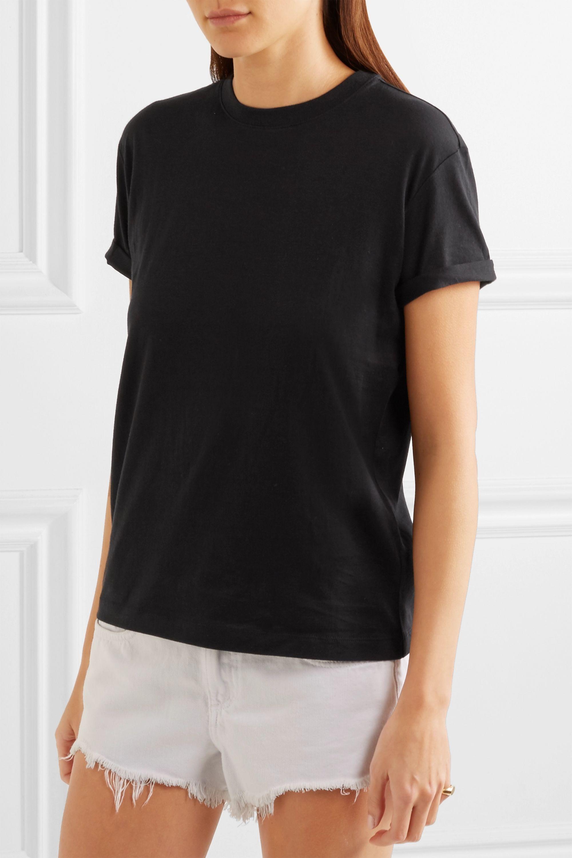alexanderwang.t Superfine cotton-jersey T-shirt