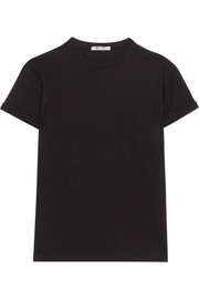 T by Alexander Wang Superfine cotton-jersey T-shirt