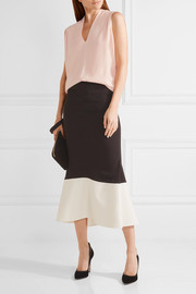 Narciso Rodriguez Wool and cashmere-blend top