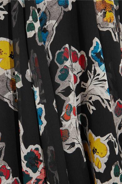 Jason Wu Minikleid aus floral bedrucktem Seidenkrepon Manchester Verkauf Online BfUKO