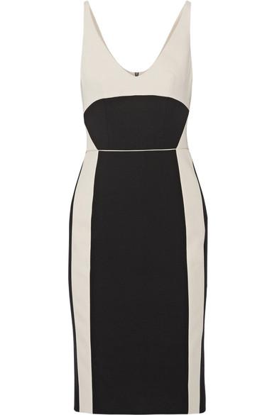 Gabardine hightail cocktail dress