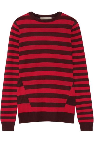 Jason Wu - Striped Silk Sweater - Red