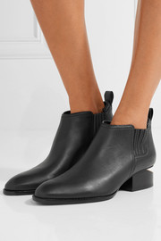 Alexander Wang Kori cutout leather ankle boots