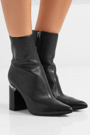 Kirby leather ankle boots