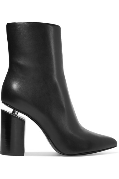 Alexander Wang Leather Ankle Boots uURle4raS