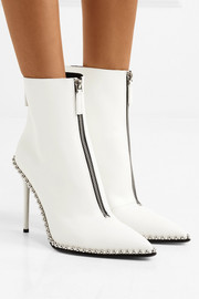 Alexander Wang Eri embellished leather ankle boots