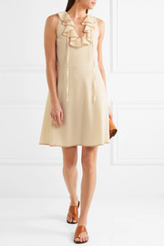 See by Chloé Ruffled crepe dress