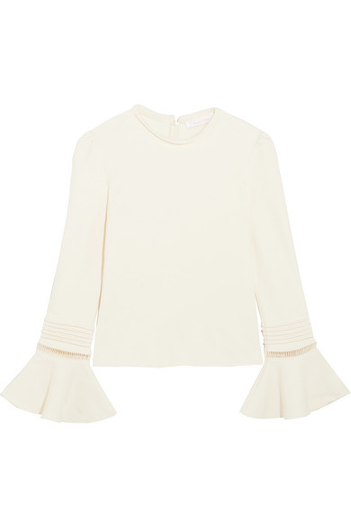 See By Chloé Cottons COTTON-JERSEY SWEATER