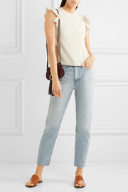 See by Chloé Ruffled jersey top