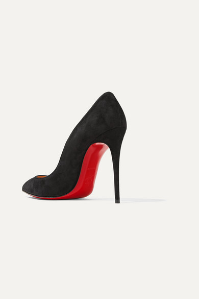 first rate ec47d 5514f Christian Louboutin | Pigalle Follies 100 suede pumps | NET ...