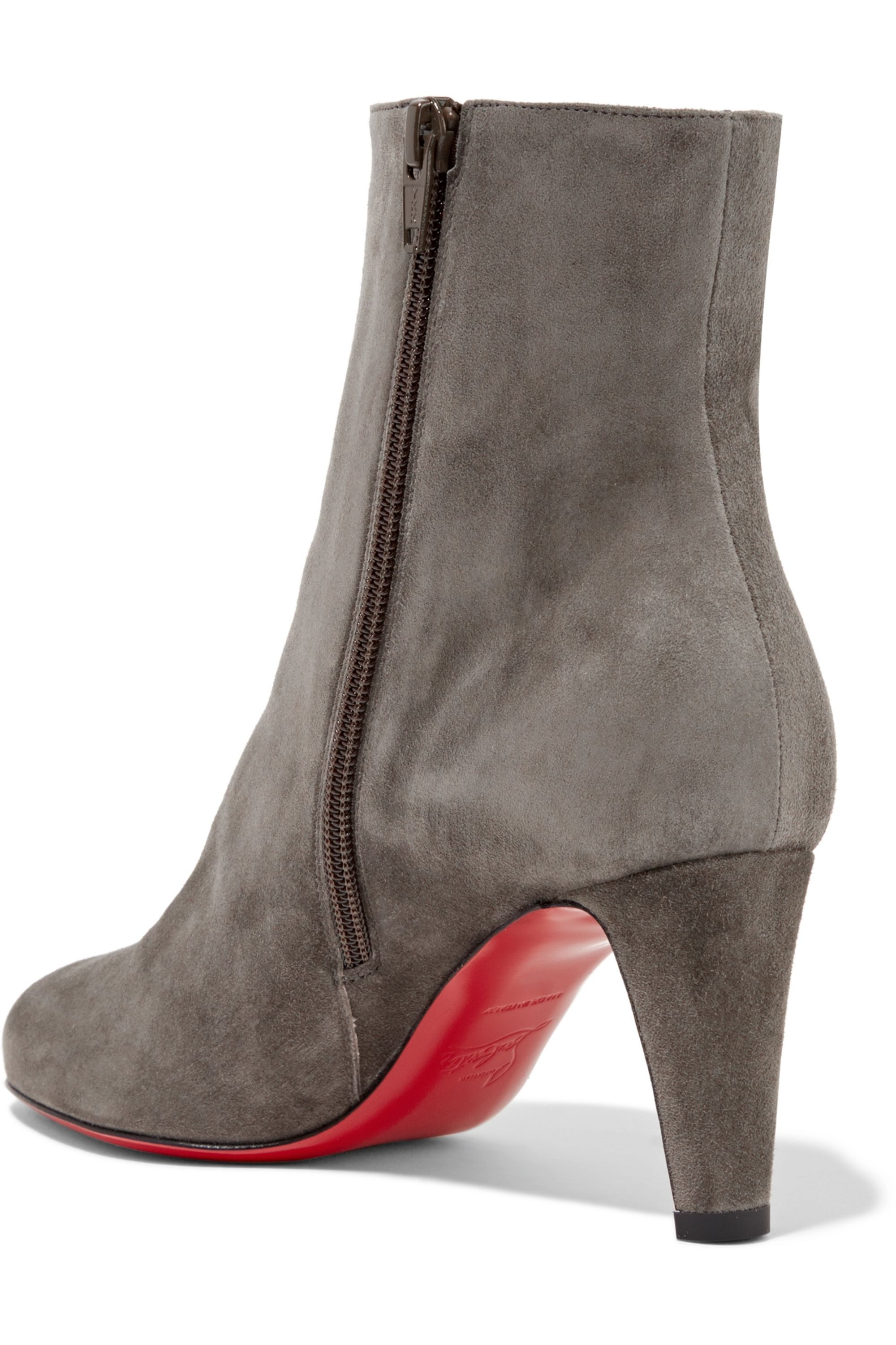 Christian Louboutin Top 70 suede ankle boots