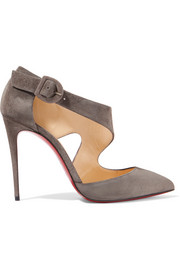 Christian Louboutin Sharpeta suede pumps