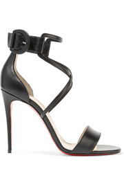 Christian Louboutin Choca 100 leather sandals