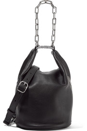 Alexander Wang Attica Dry chain-embellished leather shoulder bag