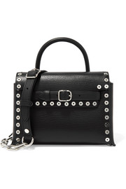 Alexander Wang Attica mini studded textured-leather shoulder bag