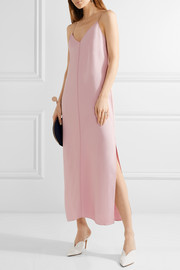 Dara stretch-cady maxi dress