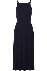 Elizabeth and James Josette cutout ribbed merino wool-blend midi dress