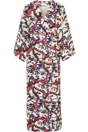 Elizabeth and James Howe floral-print silk maxi dress