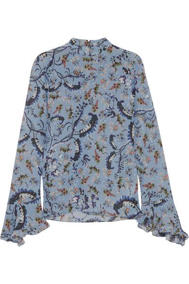 Landsey silk blouse Erdem Under Sale Online qa3KsE5n