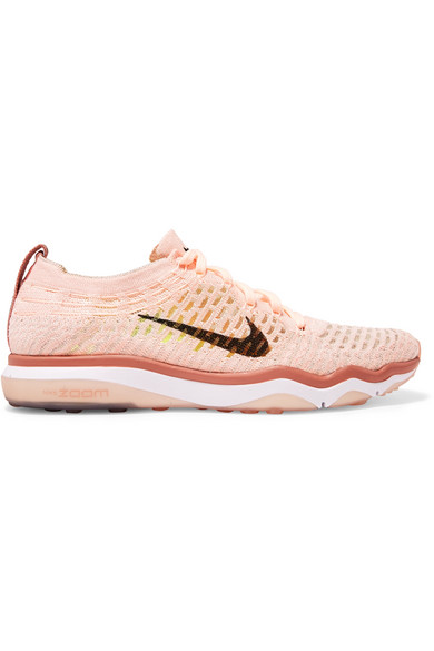 5cc9a600169 Nike Air Zoom Fearless Flyknit Sneakers In Pastel Pink