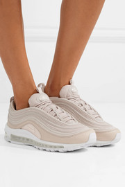 Air Max 97 paneled leather and coated mesh sneakers