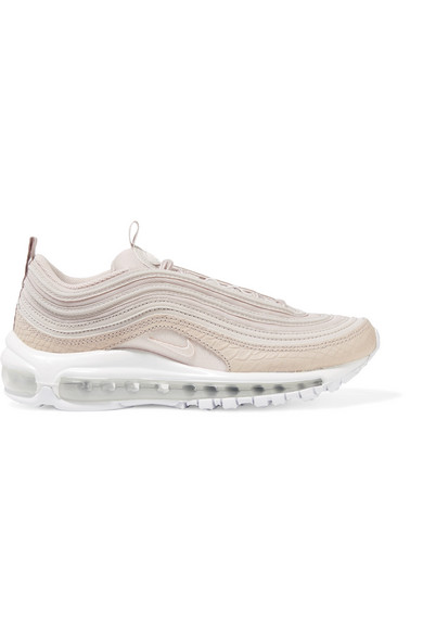 quality design aacfa e2c80 Air Max 97 paneled leather and coated mesh sneakers