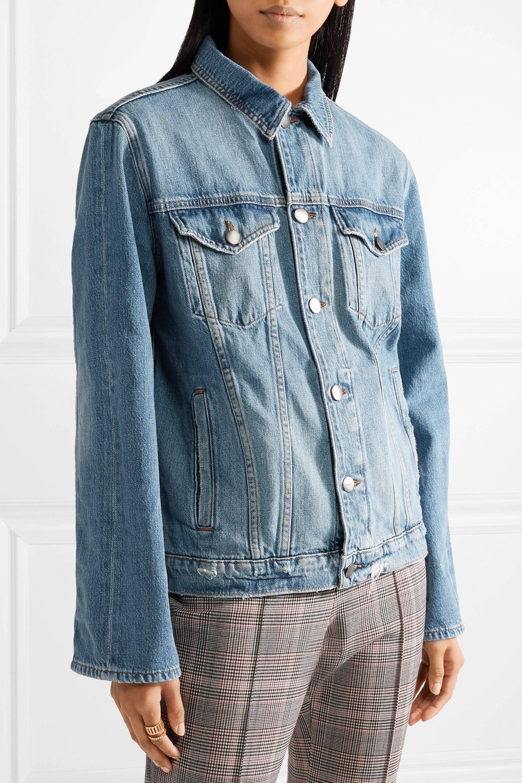 FRAME Le Jacket oversized denim jacket