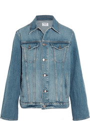 Le Jacket oversized denim jacket
