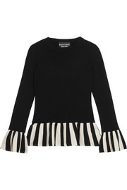 Boutique Moschino Striped knitted sweater