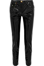 Boutique Moschino Vinyl skinny pants