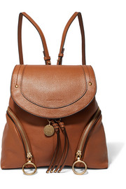 See by Chloé Olga textured-leather backpack