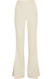Solace London Ray crepe flared pants