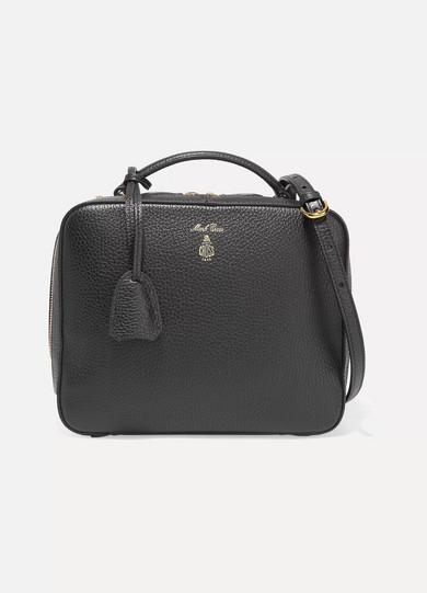 Laura Textured-leather Shoulder Bag - Black Mark Cross f83aRPp
